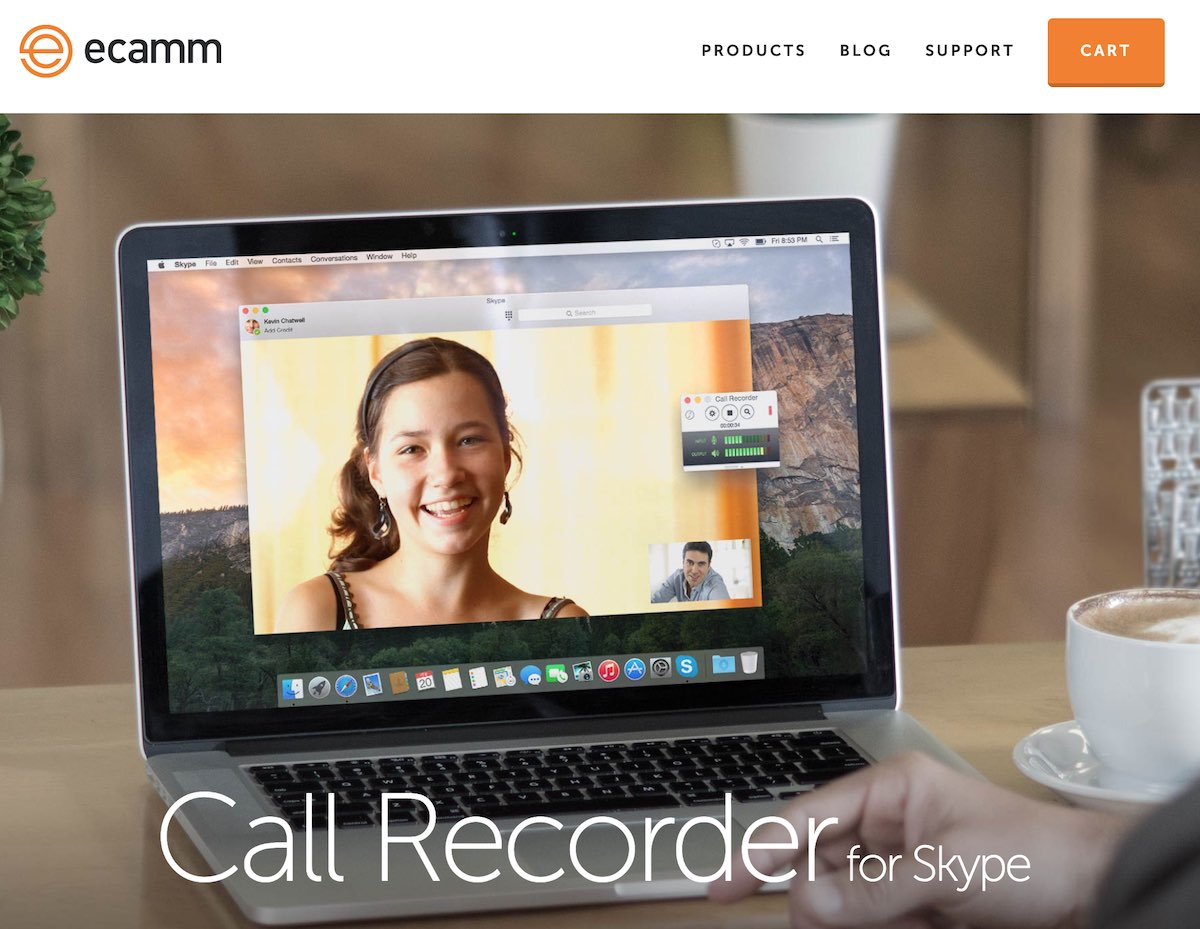 Ecamm call recorder per lo smart working