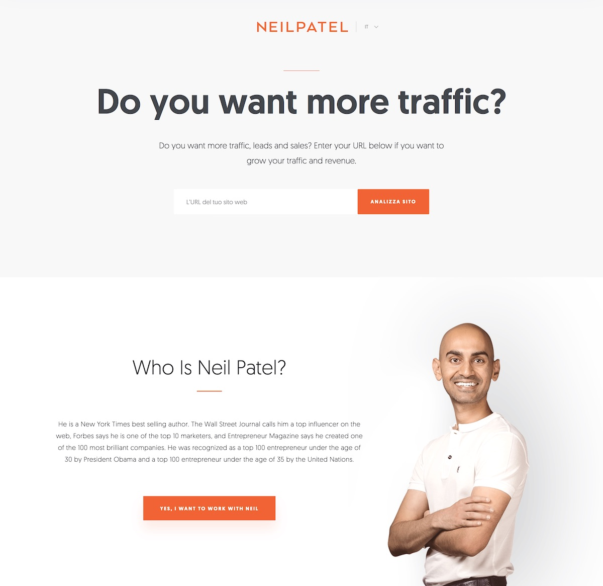 Neil Patel - Come lavorare nel web marketing
