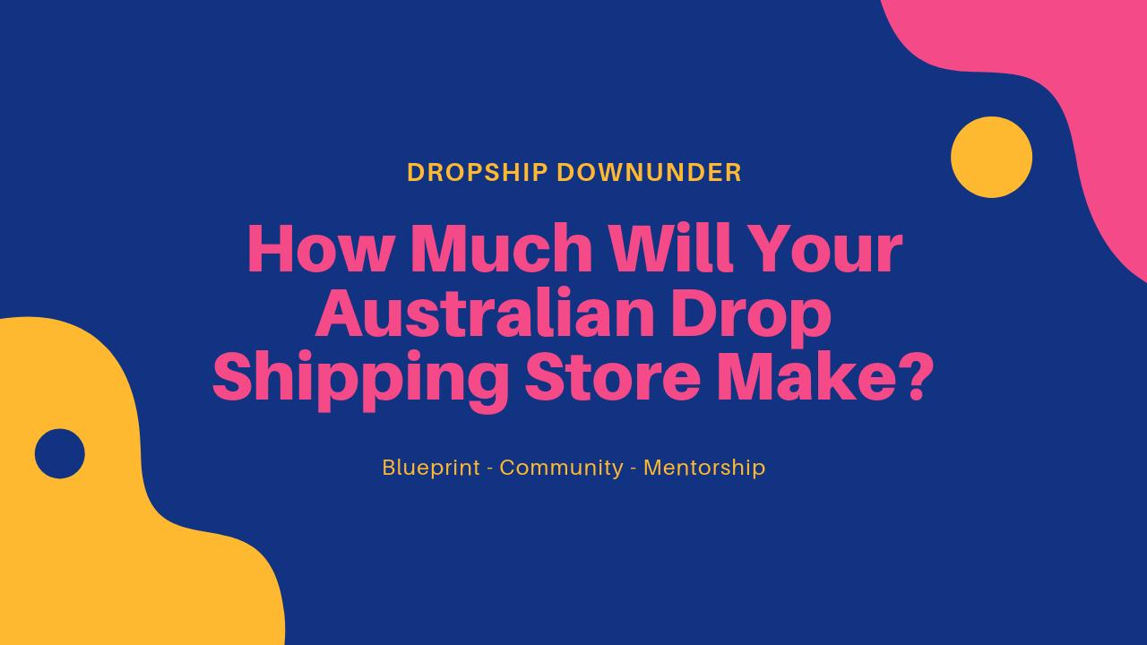 Dropship Downunder Blog
