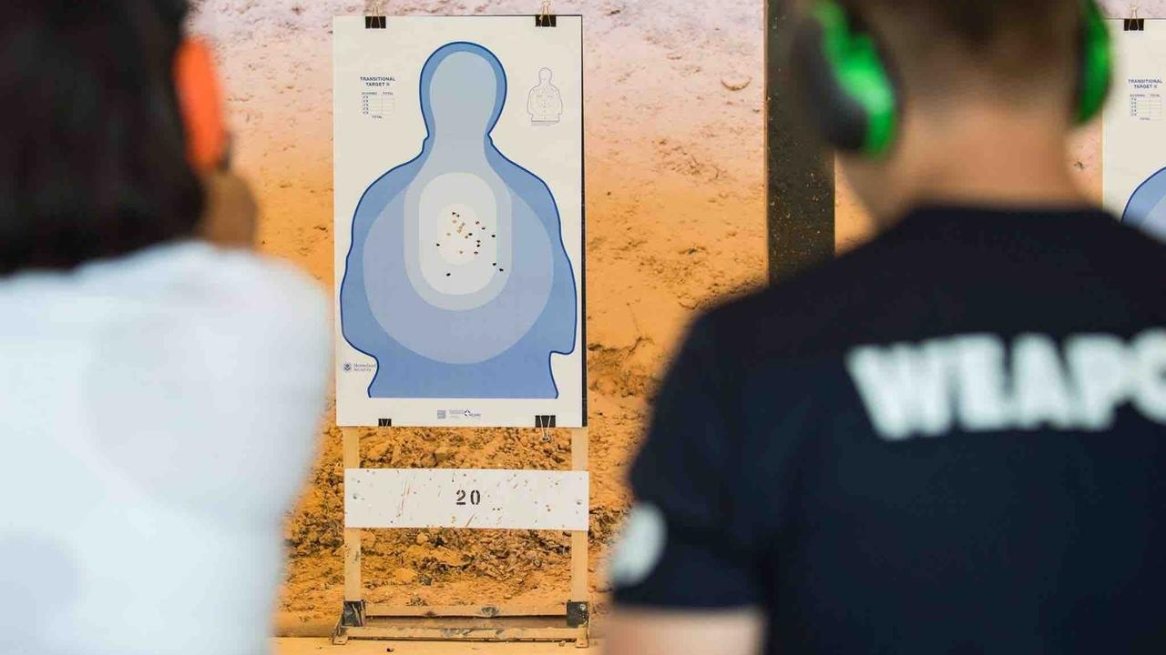 Weapons Training and Qualification at the United States