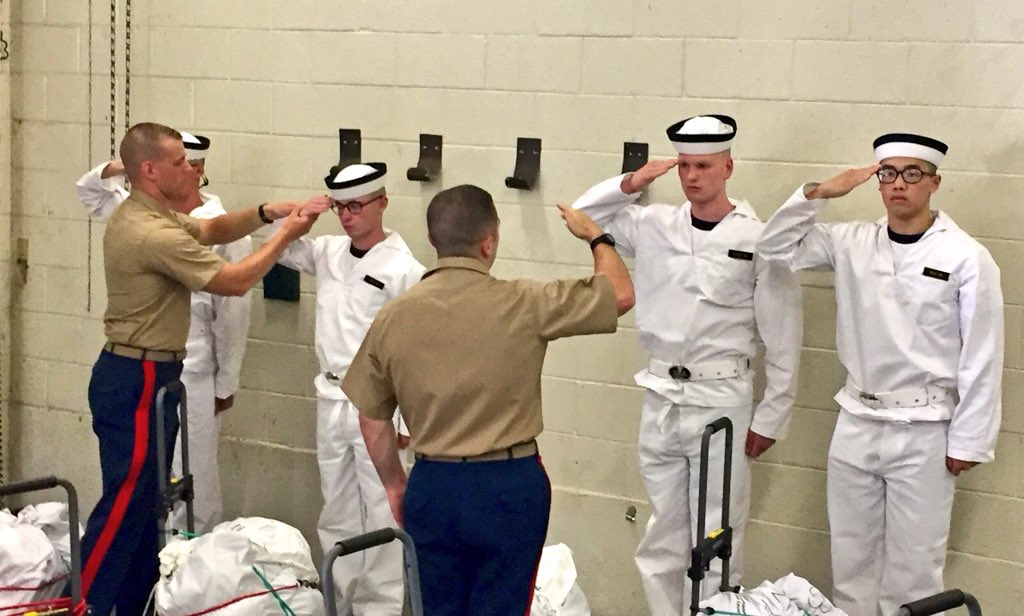 Academy Insider's Guide - Induction Day United States Naval
