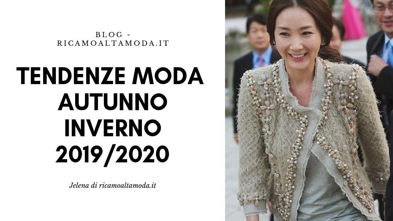 cheap for discount 03d0f afddb Tendenze moda autunno inverno 2019/2020, la mia TOP 5.