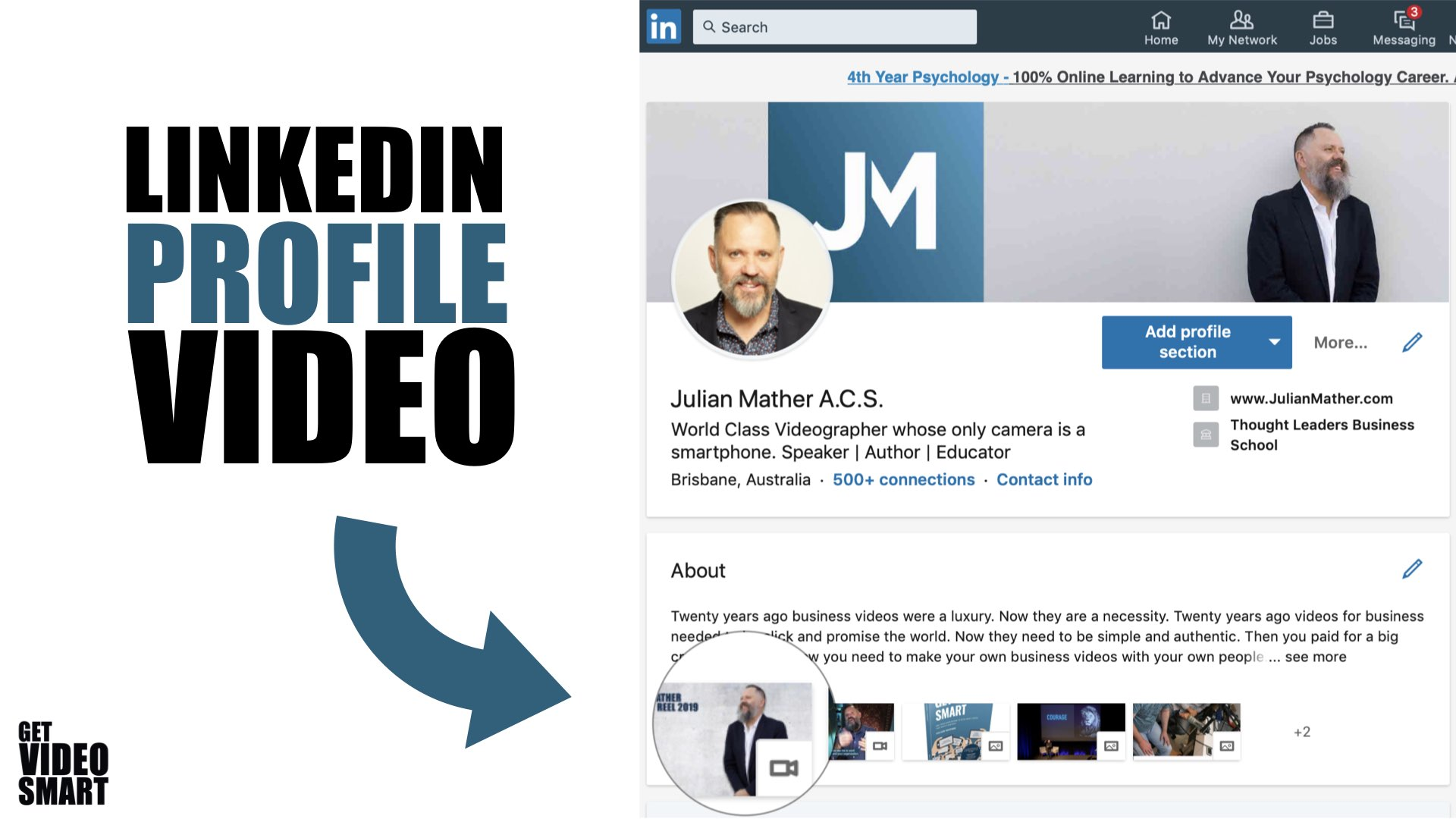 How To Make Your First LinkedIn Video