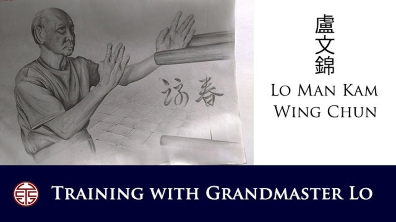 Training Wing Chun With Grandmaster Lo Man Kam