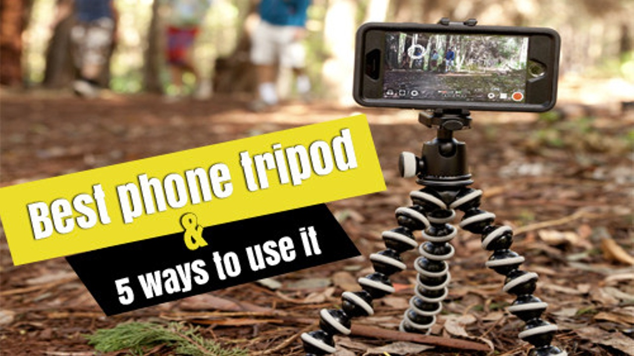 best tripod for making videos on your phone (gorilla pod)