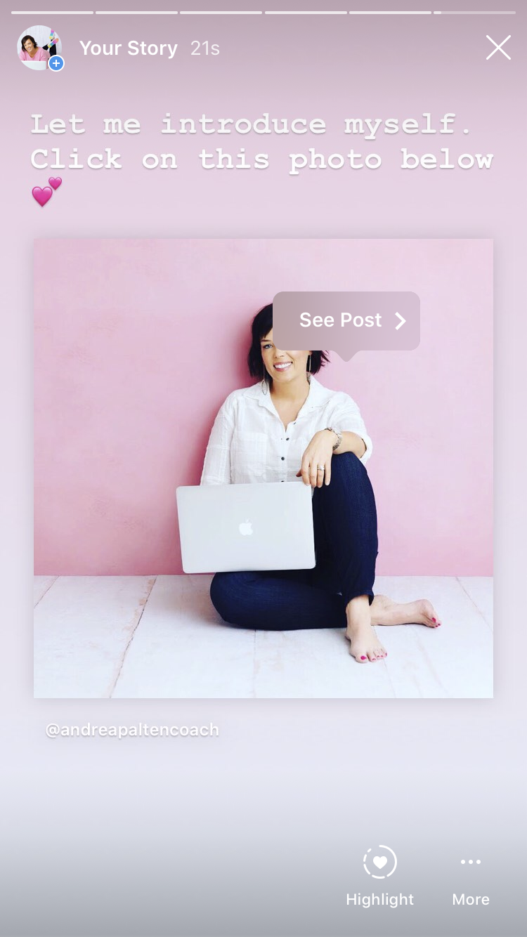 How to add your Instagram Post to your Instagram Stories