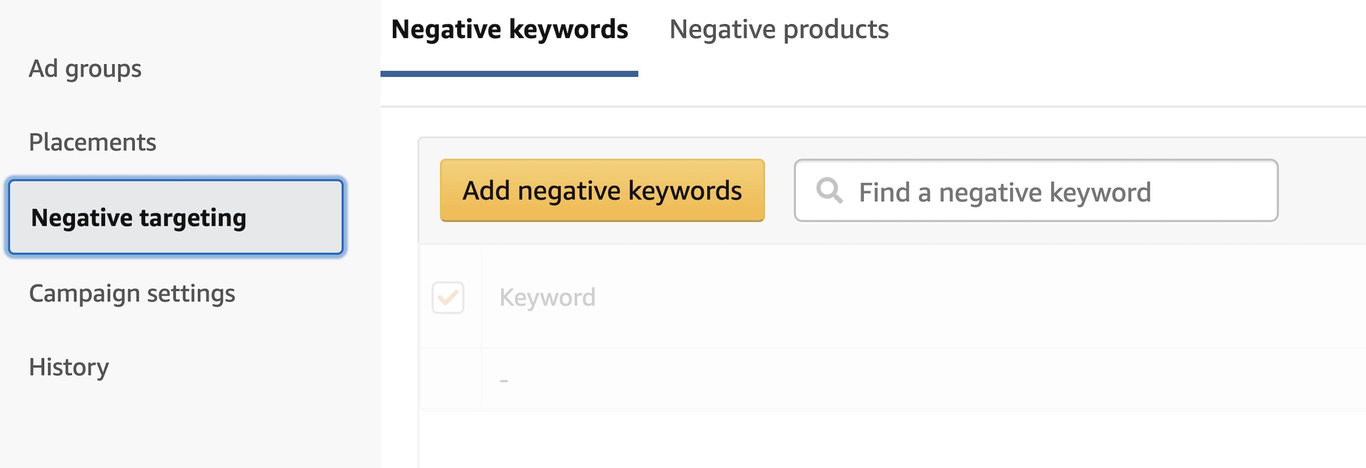 3 Ways to Use Negative Keywords For Amazon PPC