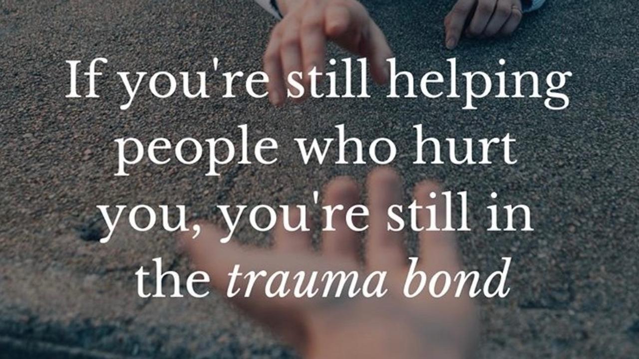 The Trauma Bond AKA The Stockholm Syndrome