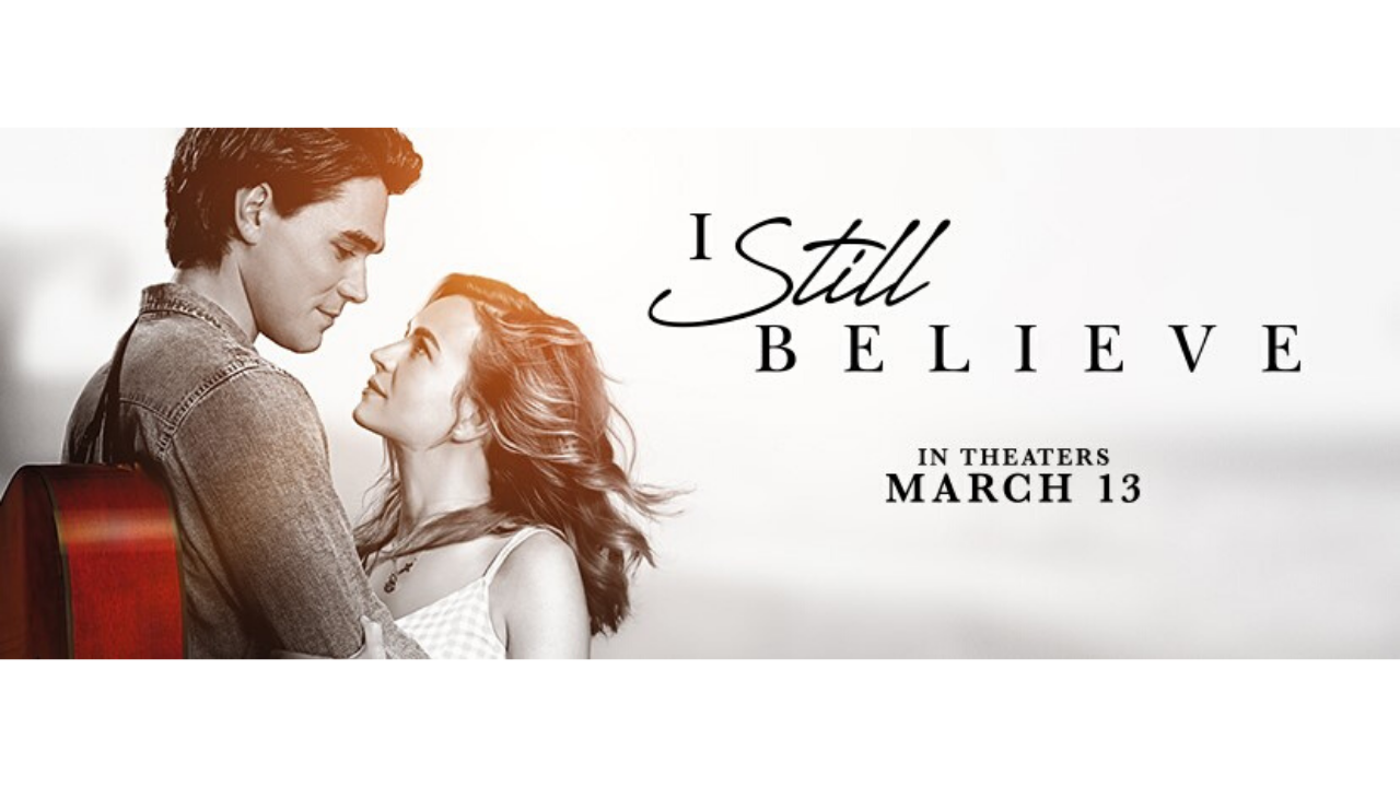 Experience I STILL BELIEVE in Theaters This Weekend!