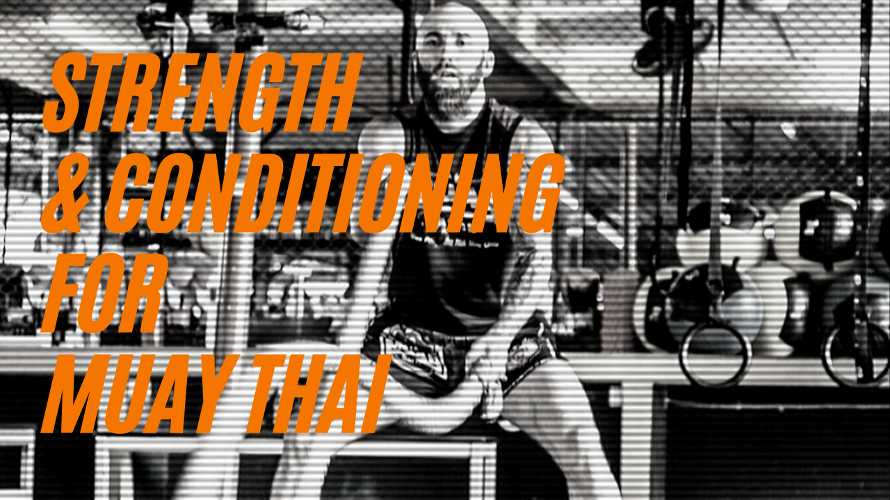 Strength and Conditioning Workout Program For Muay Thai