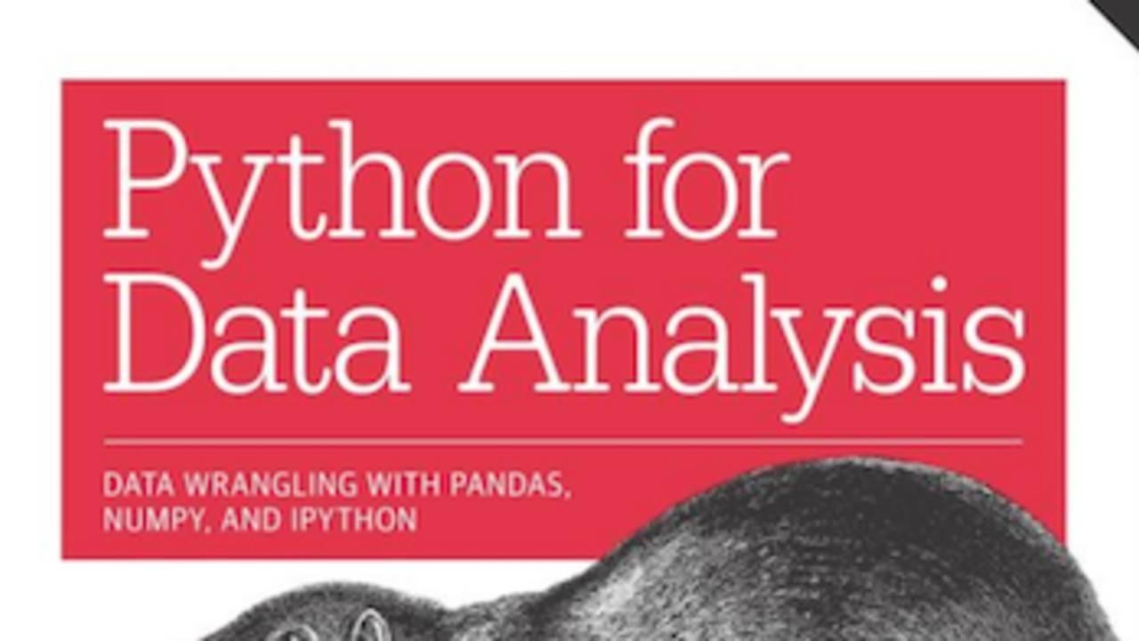 A detailed review of the book Python for Data Analysis by