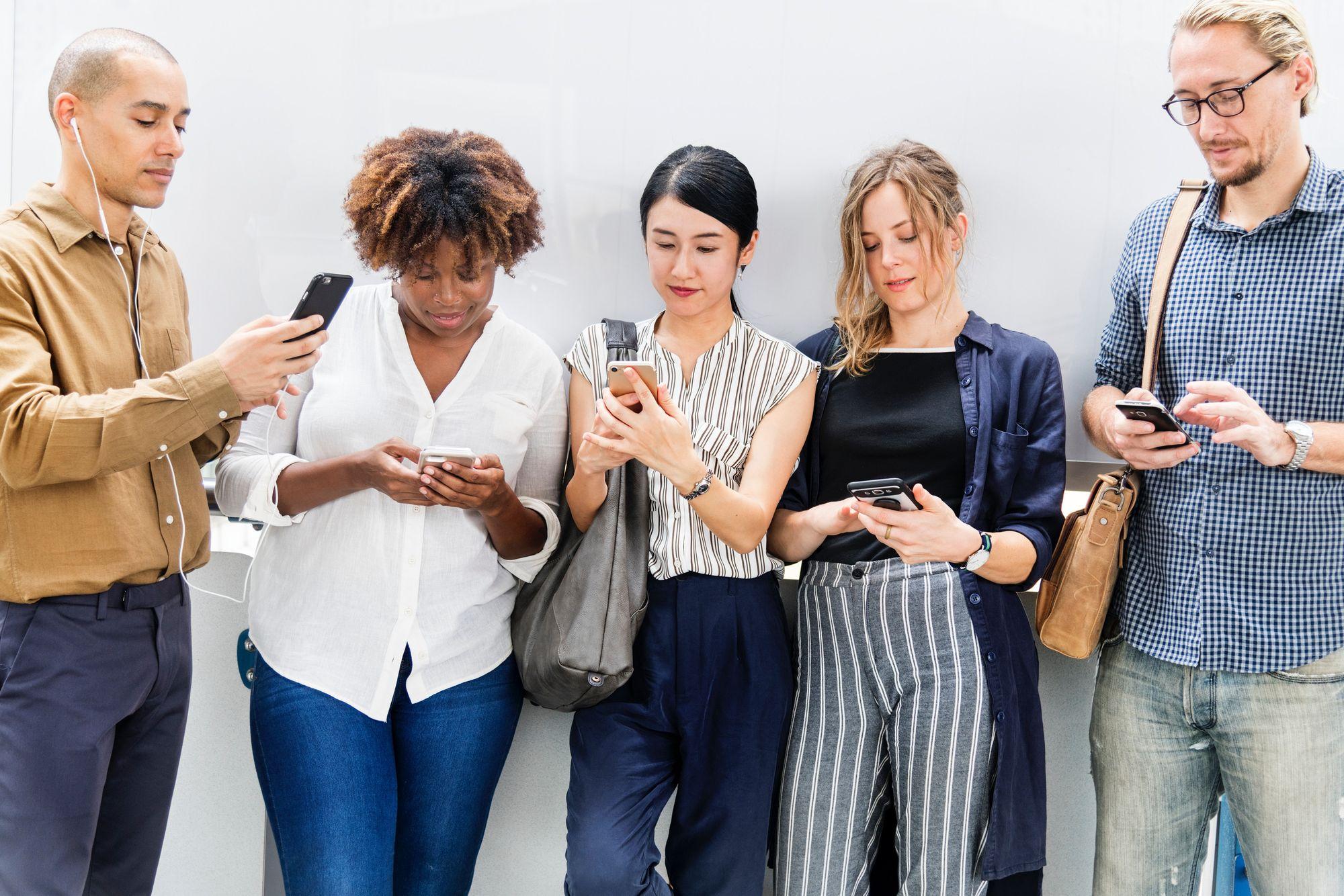 Customer attention is on social media
