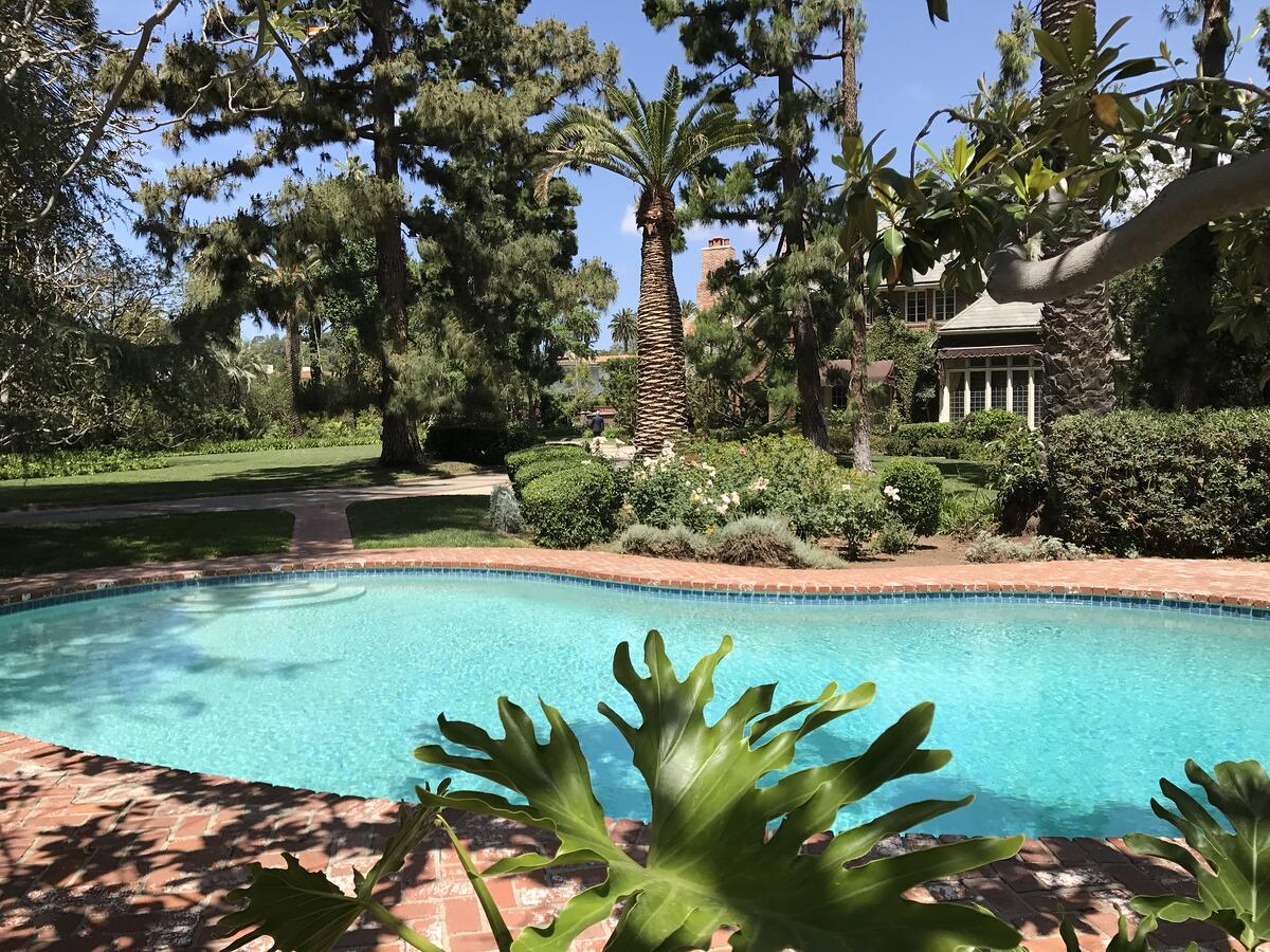 One of the properties that Ed toured for his series LA Mansion Tours