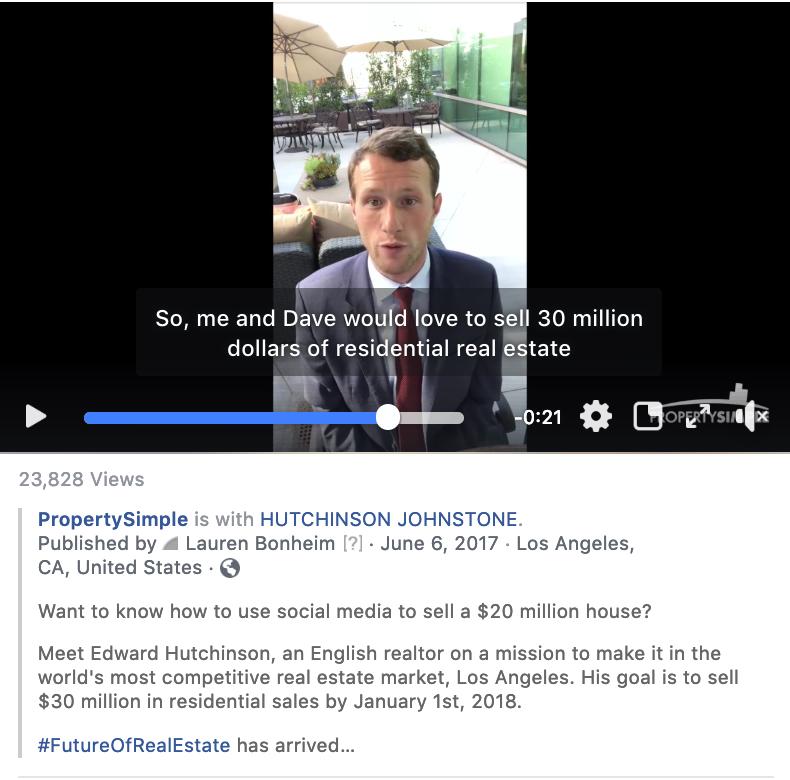 Screenshot of a Social Media video series