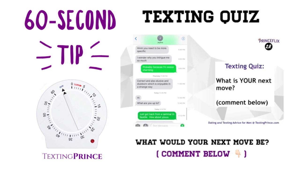 dating advice for men texting men: