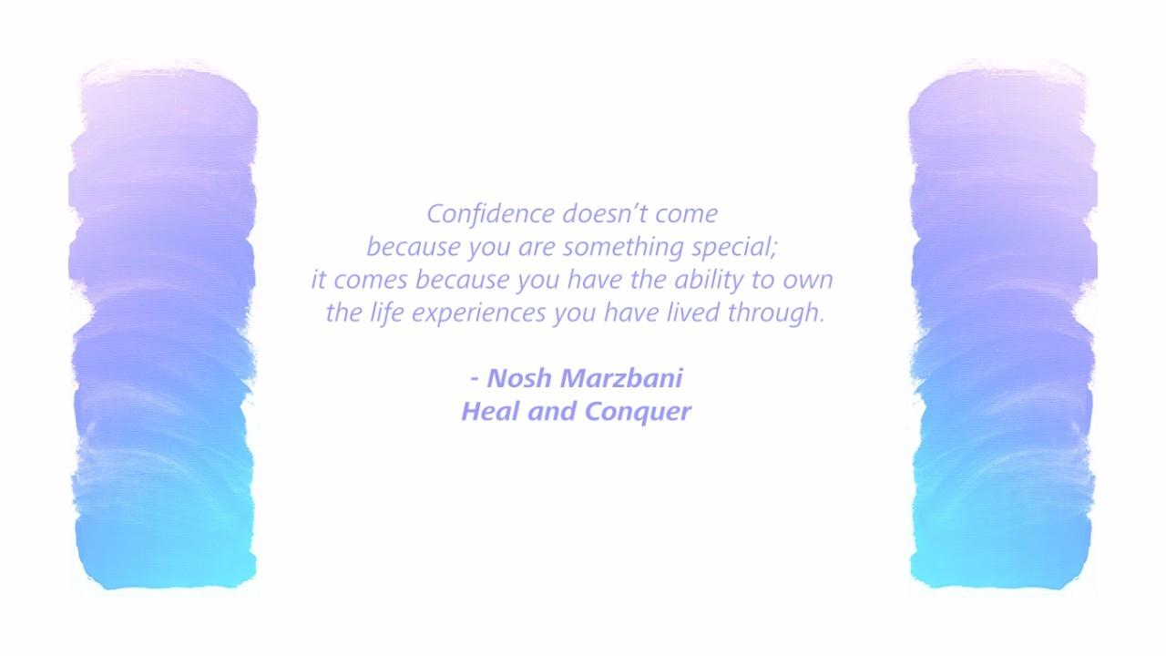 Own your life experiences