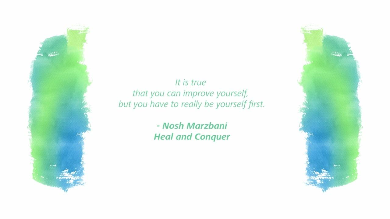Be yourself first