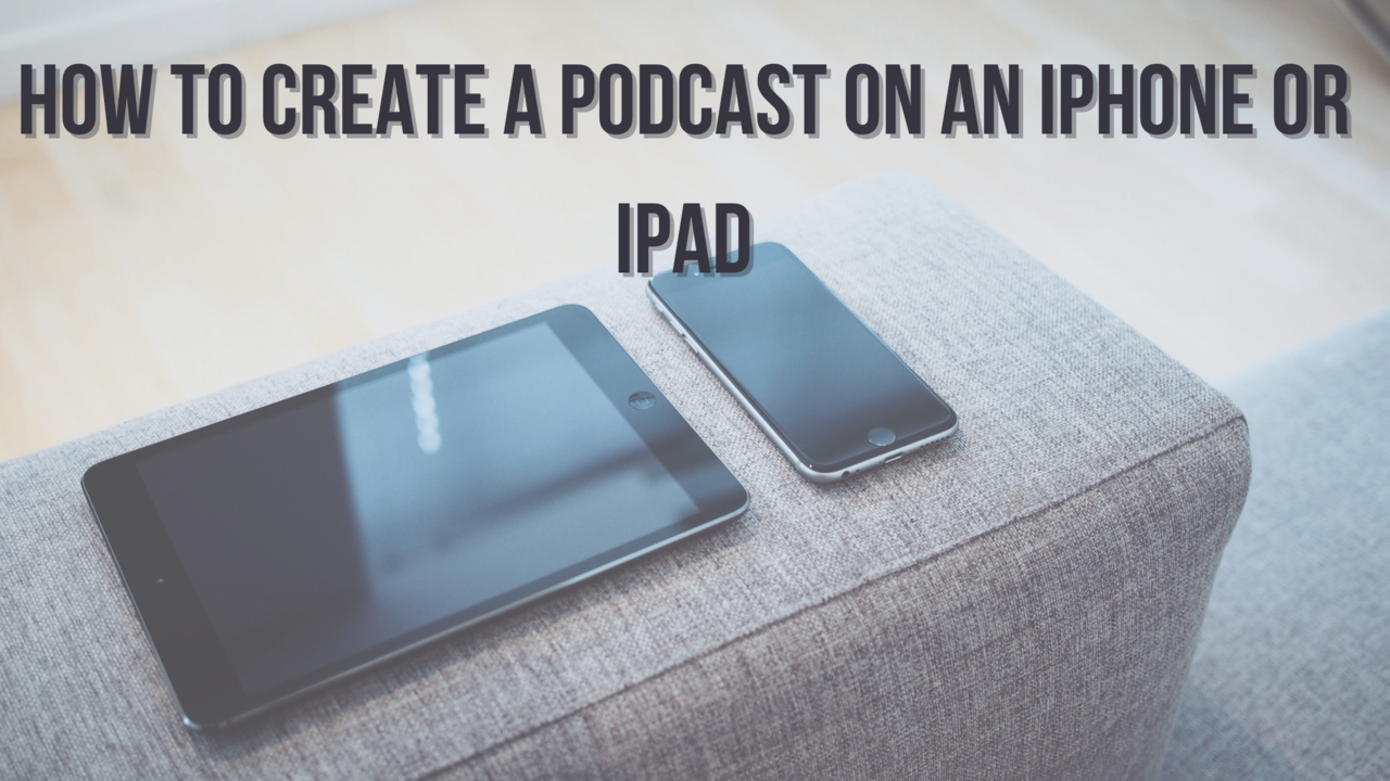 podcast on iphone or ipad