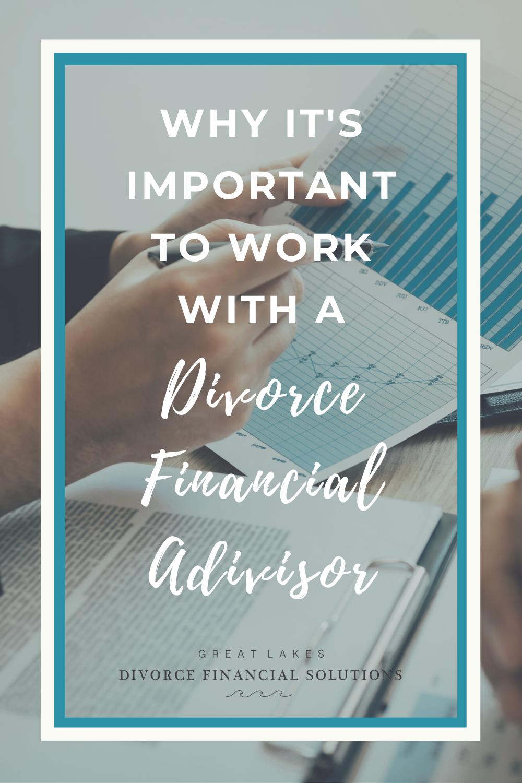 divorce financial advisor