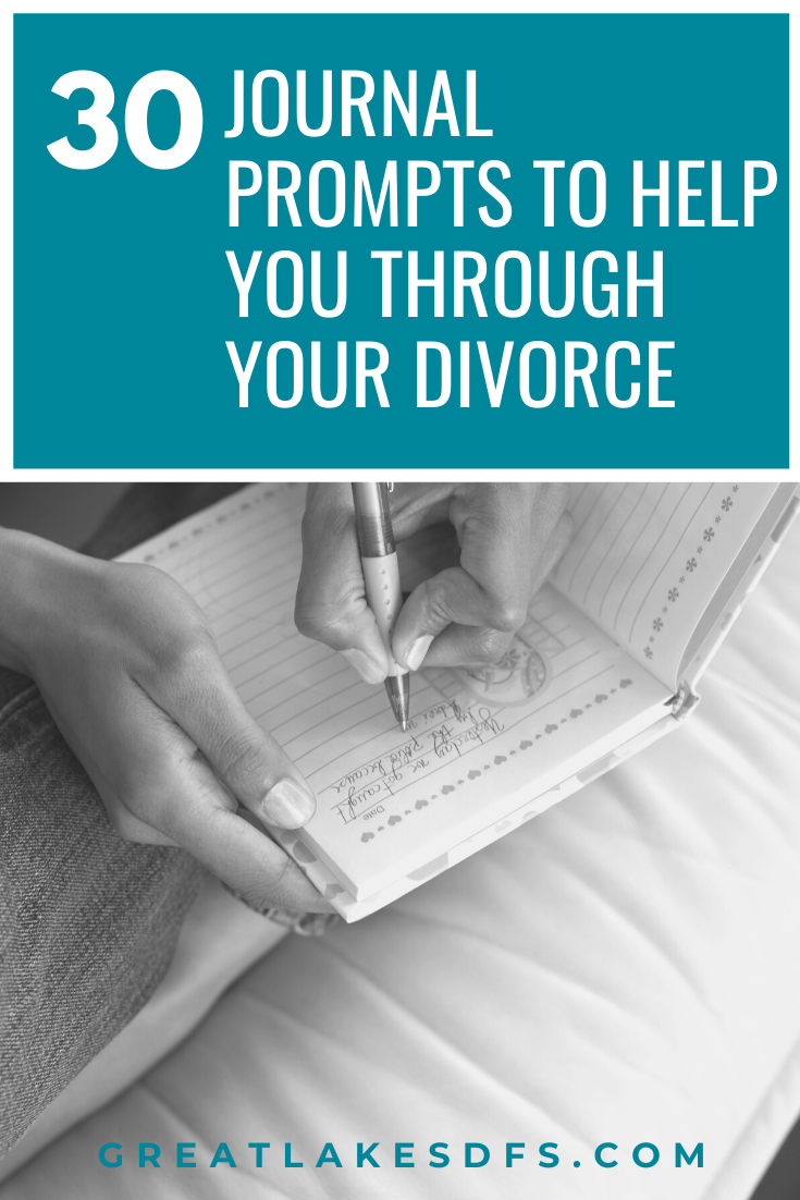 divorce journaling prompts