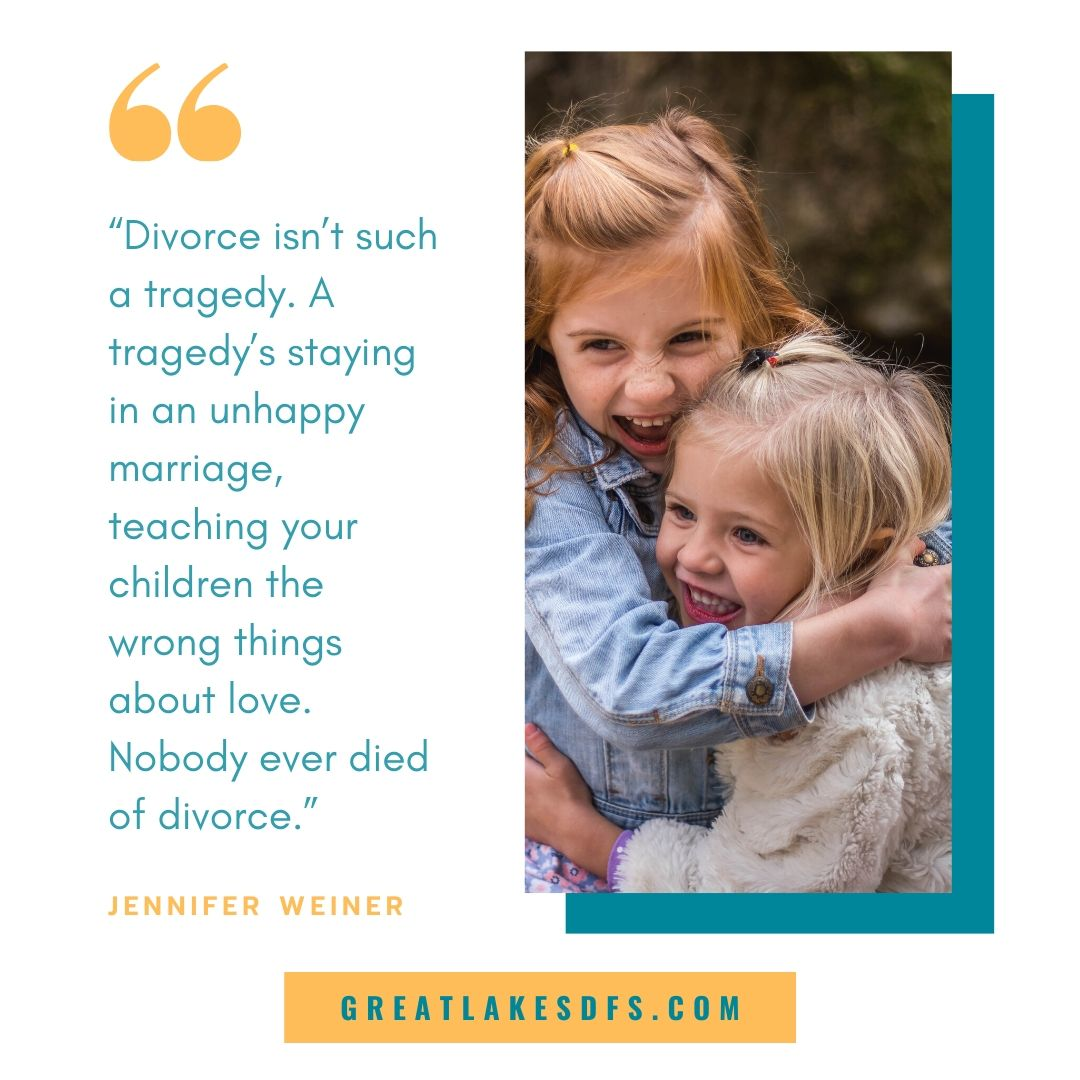 life after divorce quote image