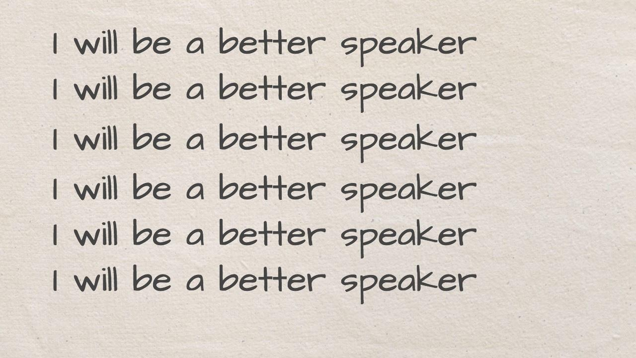Speaking for influence starts here one of the easiest ways to be a better speaker xflitez Images