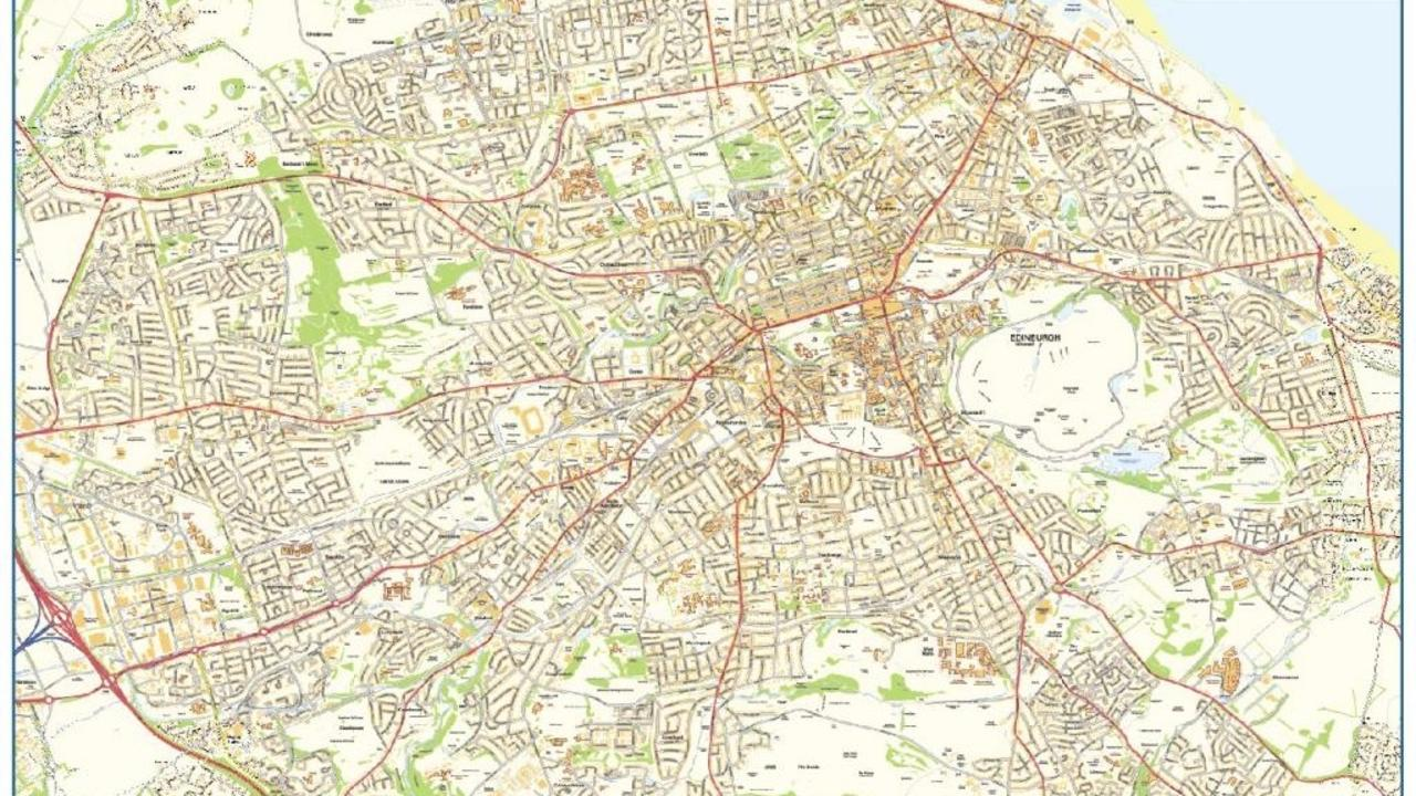 Mile Run In The City Of Edinburgh - Map how far i ran