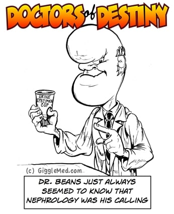 Doctor Jokes in Comics - Nephrology