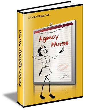 new nursing humor book - Hello Agency Nurse