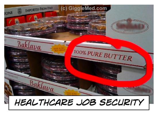 Healthcare Comic: Job Security