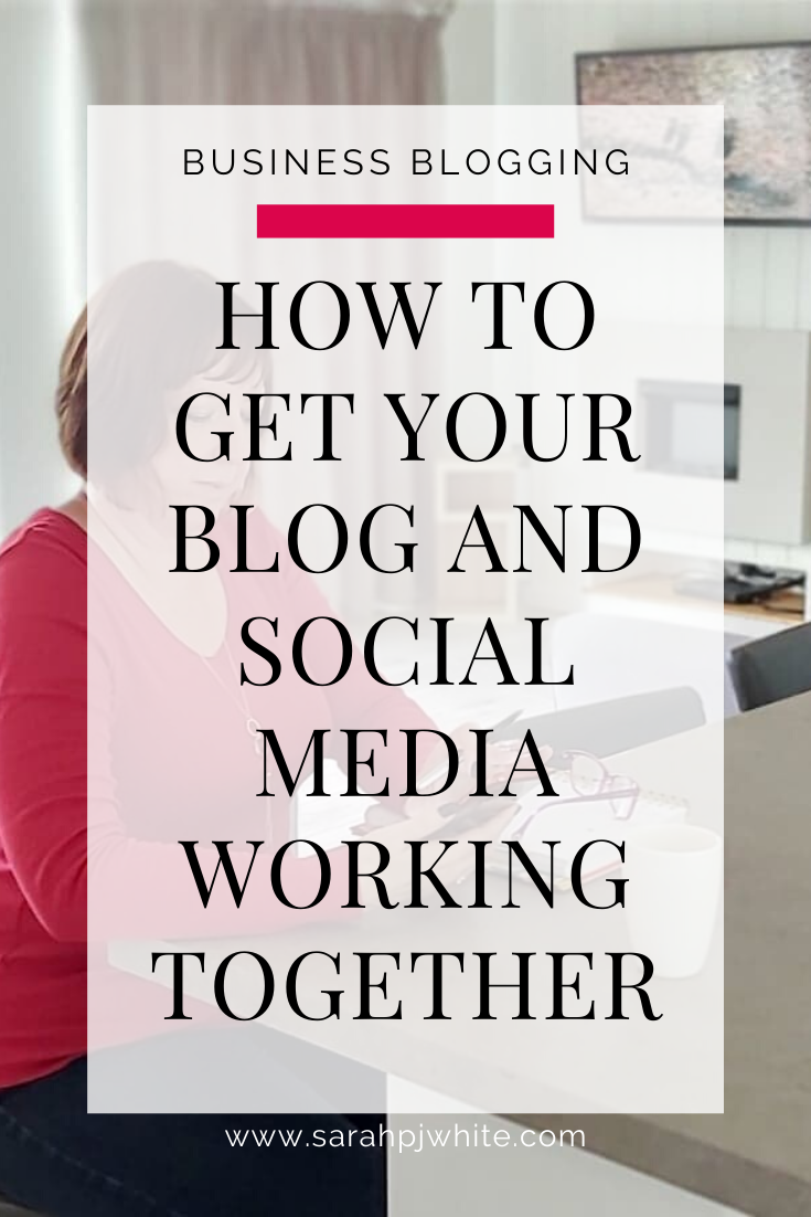 A lot of online businesses see blogging and social media as an either or kind of scenario. But it does not (and should not!) be that way. Here is why.