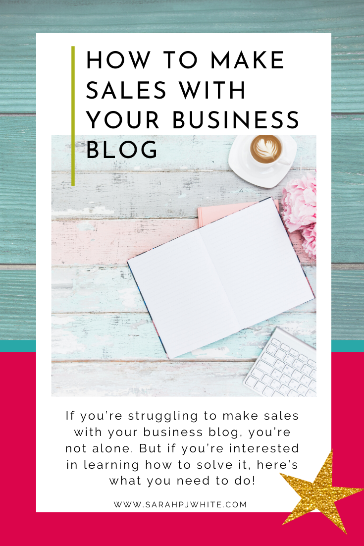 If you are struggling to make sales with your business blog, you are not alone. But if you are interested in learning how to solve it, here is what you need to do.