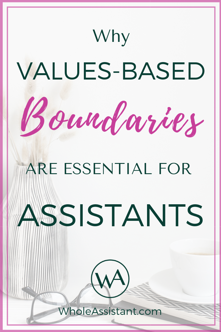 Why Values-Based Boundaries Are Essential for Assistants