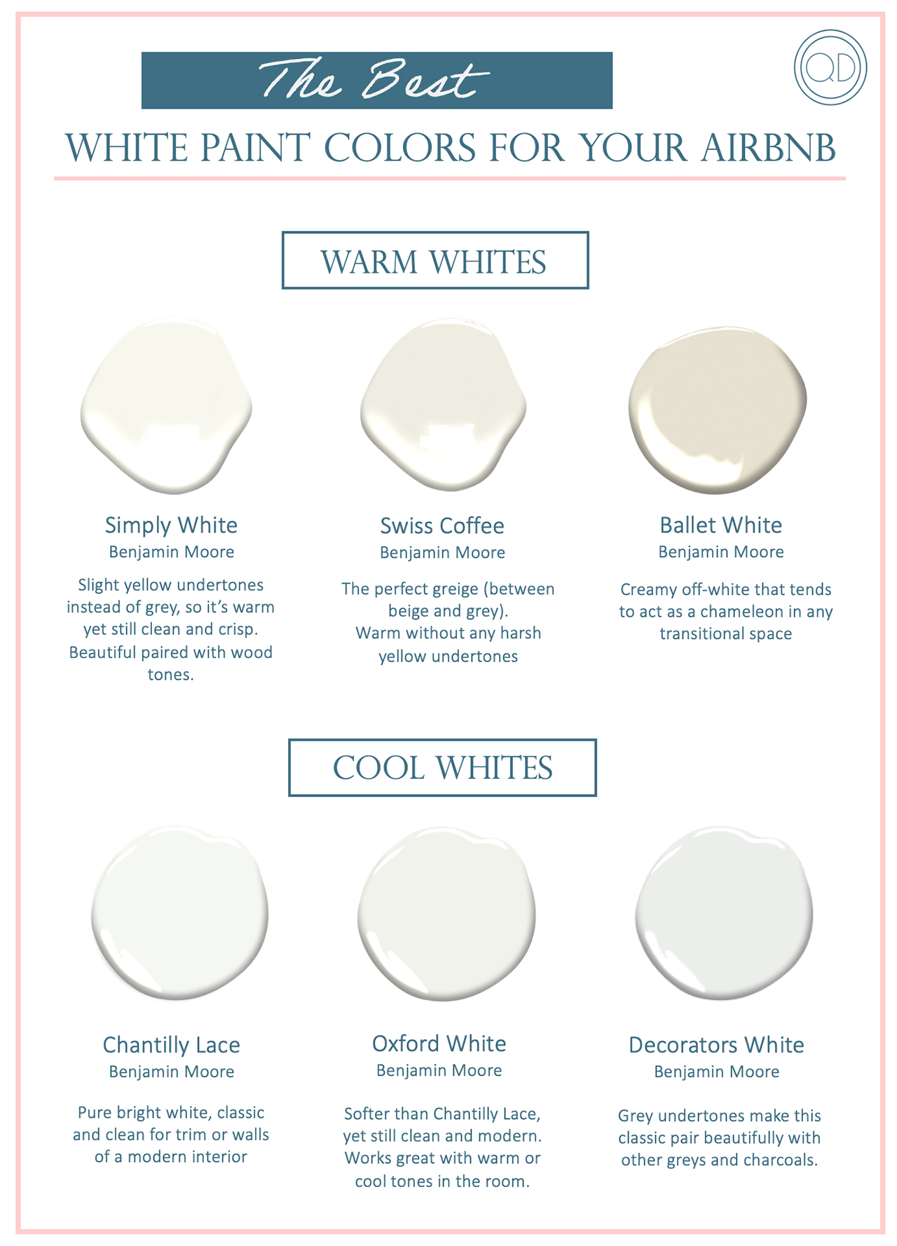 The Smartest Color Advice And White Paint Colors For Your Airbnb,Small Closet Organization Hacks