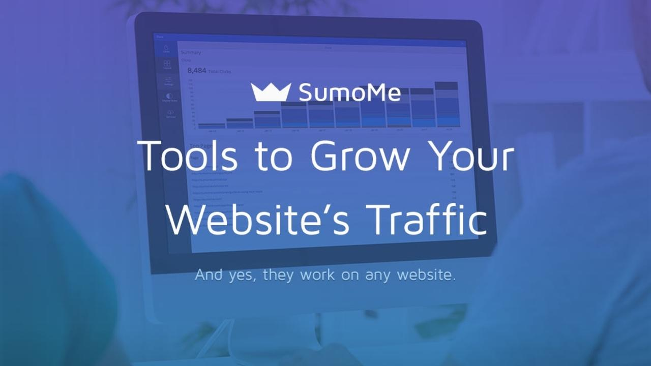 Integrating SumoMe Social Media Tools with Kajabi is super easy. Once activated, you can enjoy tools to grow your website's traffic.