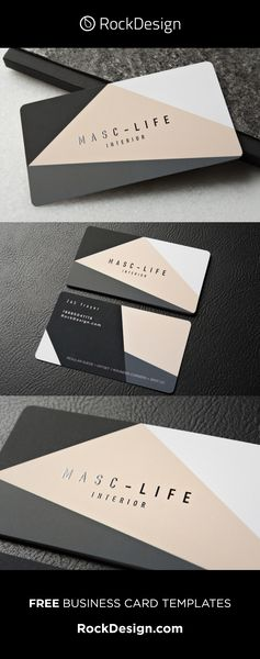 Stand Out With Creative Interior Design Business Cards