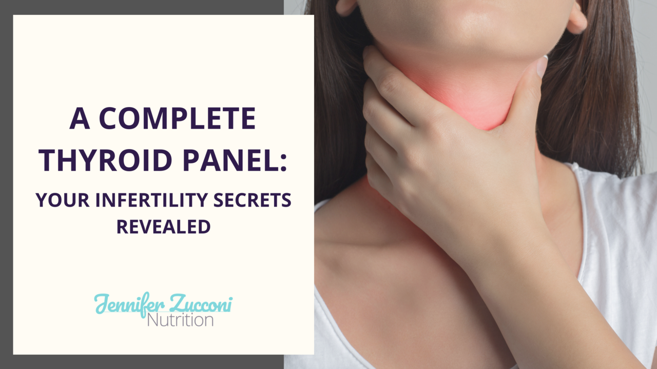 A complete thyroid panel for fertility