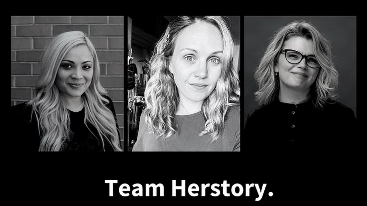 This story is written by Humaira Ahmed, Emily Mathison and Shelley Voyer - team Herstory.
