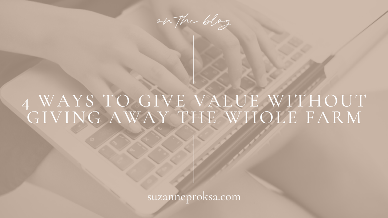 Giving value