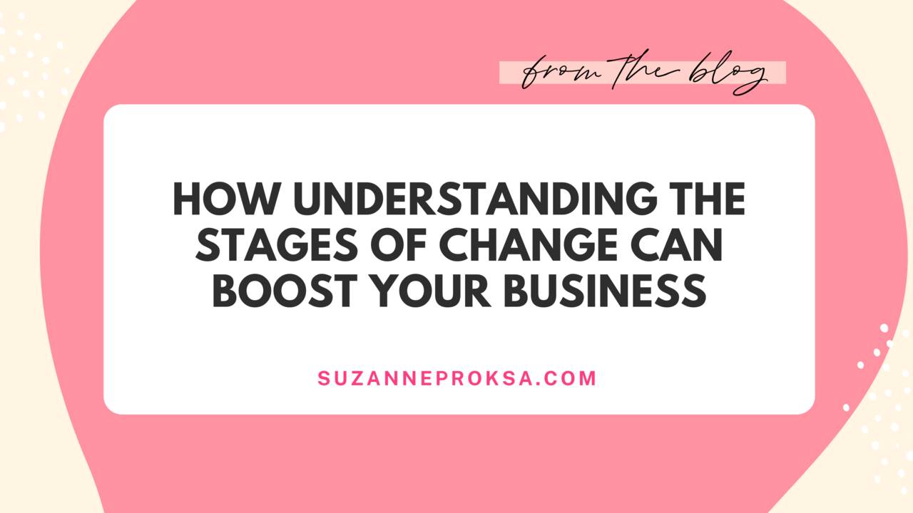 Stages of change in business