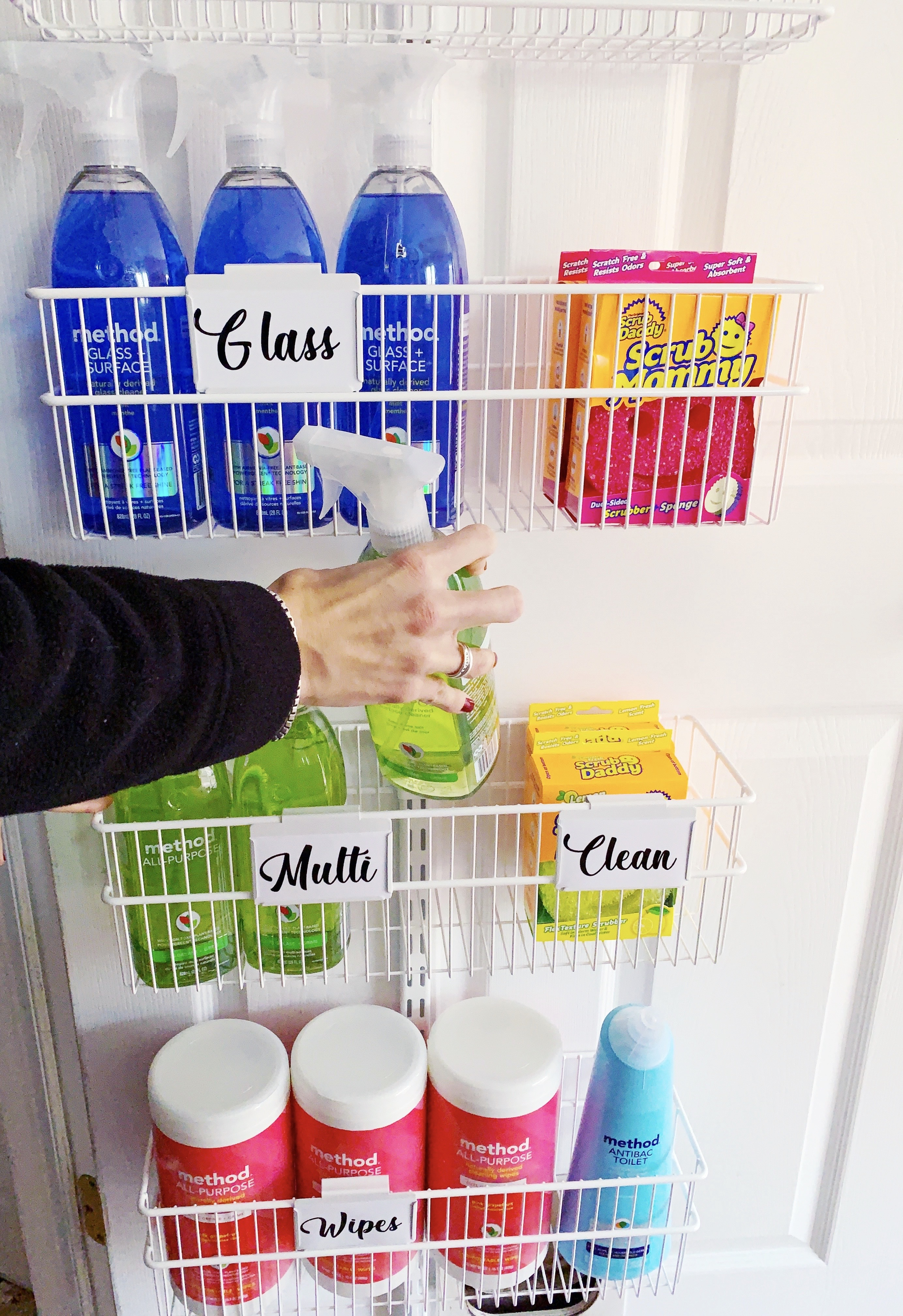 Cleaning Closet simplified for quarantine