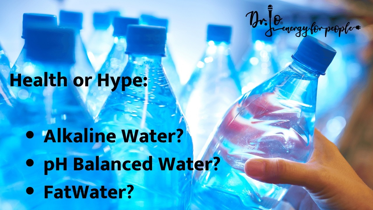 alkaline water, pH balanced water - health or hype