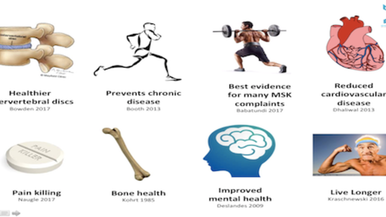 10 reasons you and your patients should EXERCISE