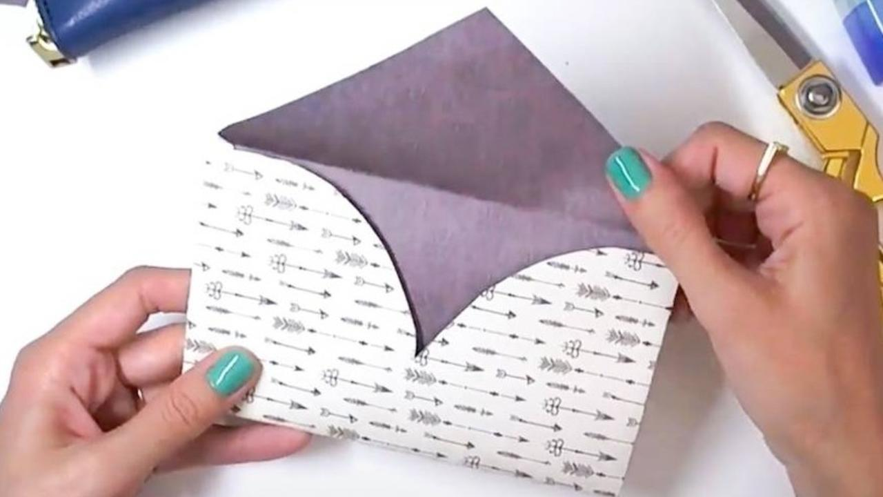 how to make a heart shaped envelope