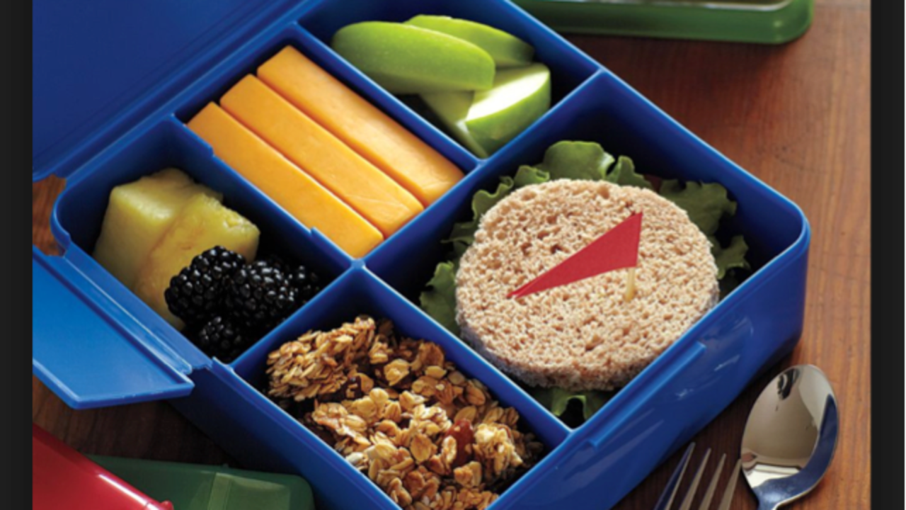 Healthy Mediterranean Style Bento Box Lunches For Work And