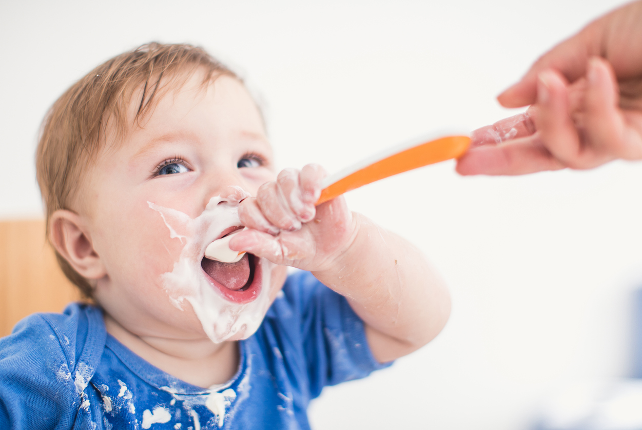 Help! My Child Won't Self-Feed! Teaching Your Child to Feed Herself