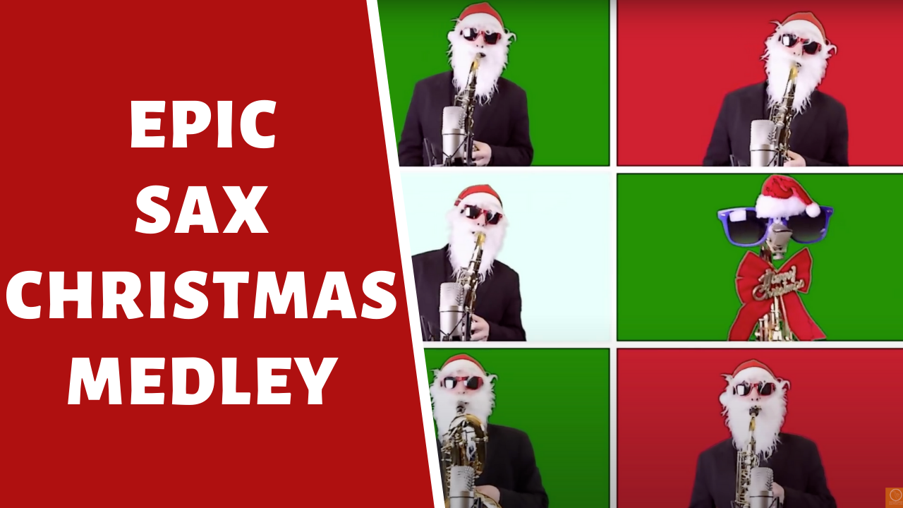 jazz saxophone holiday songs