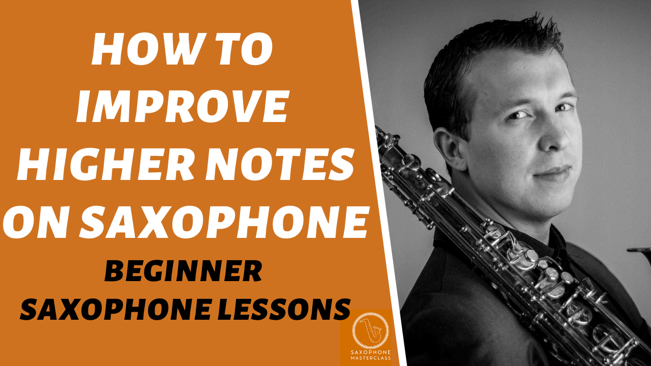How to stop squeaking high notes on sax