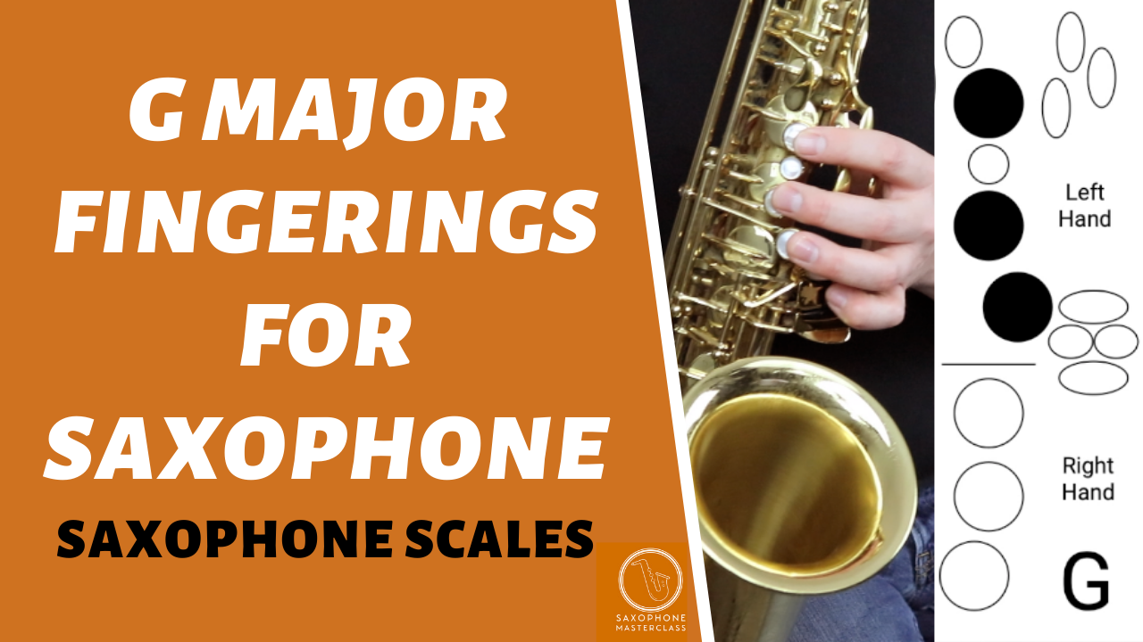 how to play major scales on sax
