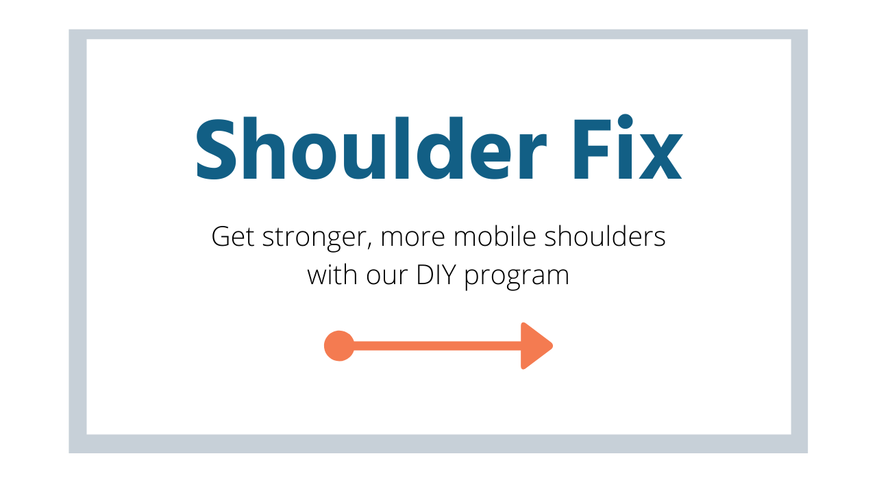 shoulder fix program button